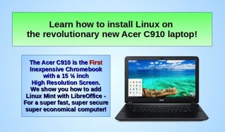 3 4 Install Linux Mint on an Acer C910 Chromebook
